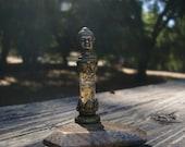 BUDDHA Orgone Energy ALTAR - Citrine and Brass Beauty