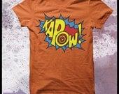 Kapow tshirt men's - sound effects, fight sounds