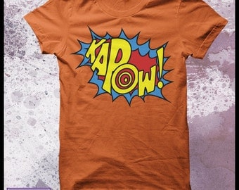 Kapow tshirt men's - sound effects, fight sounds