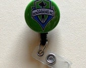 Seattle Sounders Button Badge Cover