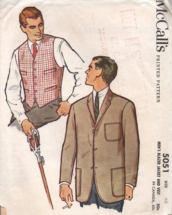 Mens Blazer Sewing Pattern Free | ESCP