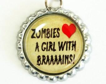Zombie, bookmark, book mark, Shepherd Hook, fifty birthday, birthday gift, humor, funny saying, Zombies (2616)