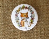 MOSSY FOX BUTTON