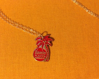 Remia PLANTEN Margarine Red Necklace