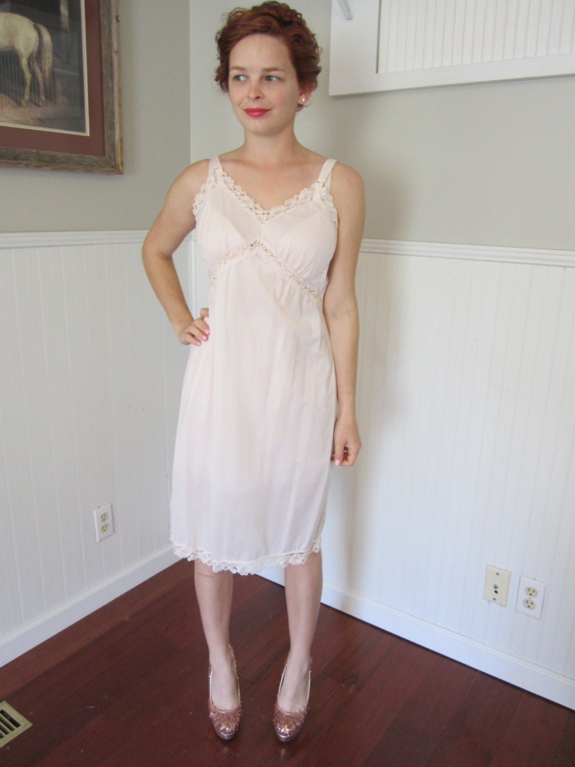 1950 S Nightgown Slip And Tap Pants Lingerie 50 S
