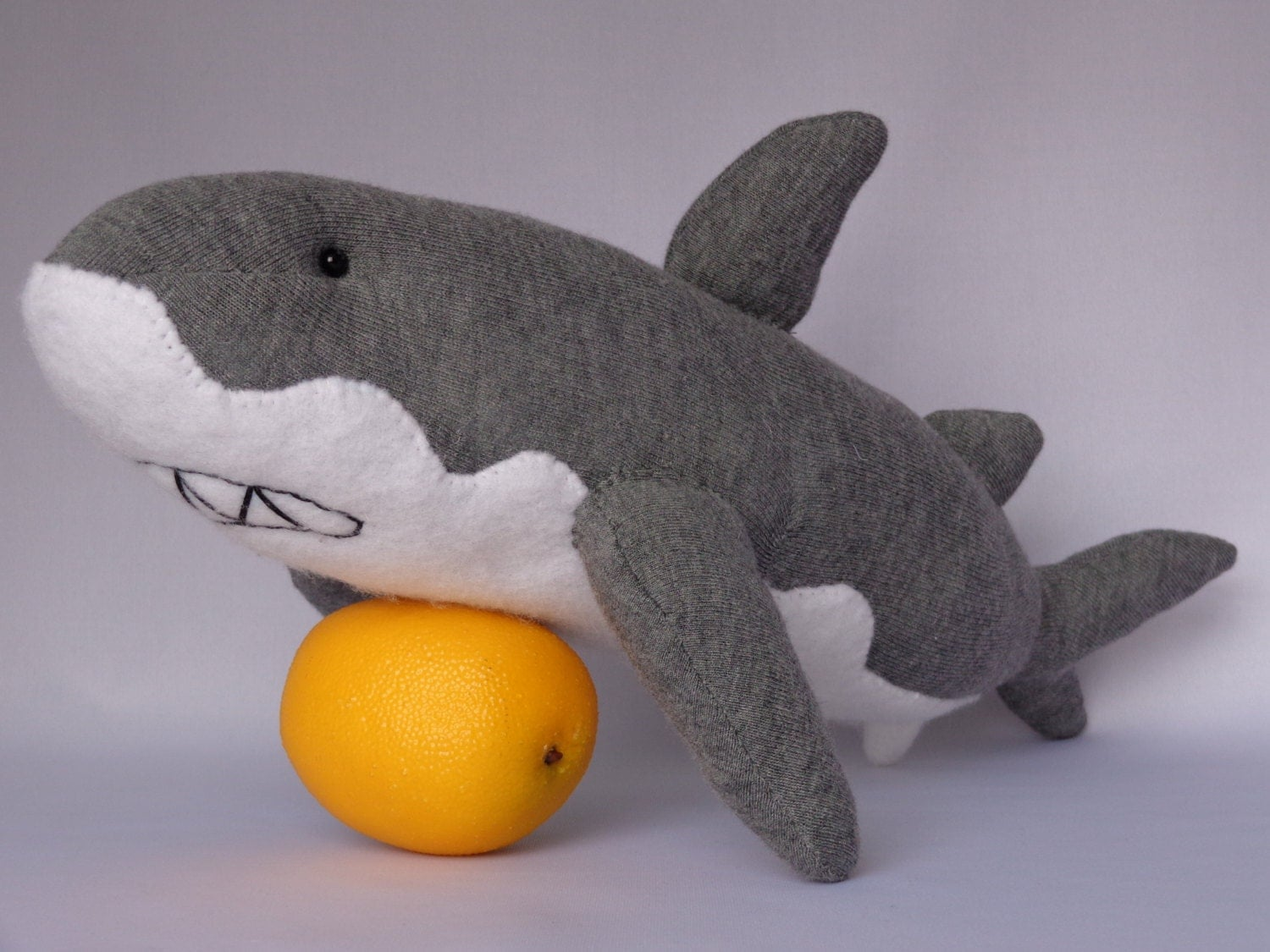 Shark Plush Toys : Shark plush toy stuffed animal sock monkey doll
