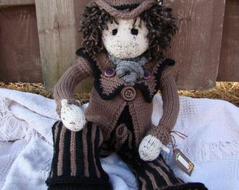 Lottie Dolls' Clockwork Jordan Attire-with Free Lottie doll basic body Pattern