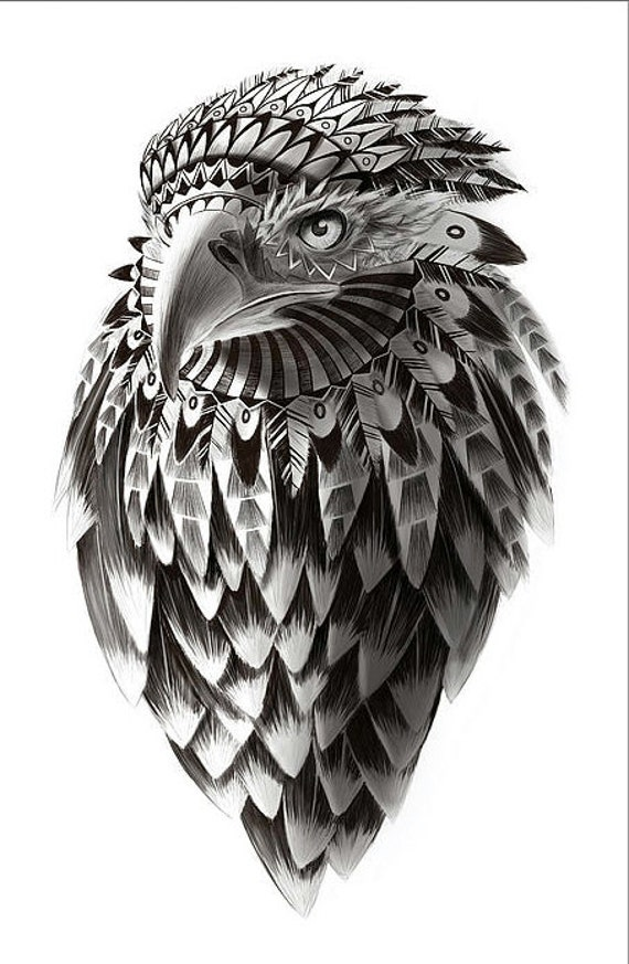 Items similar to Fantasy American Eagle fine art ...