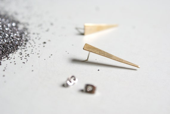 the Brass Spike studs