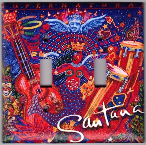 Items similar to Santana Supernatural Album Cover Switchplate ...
