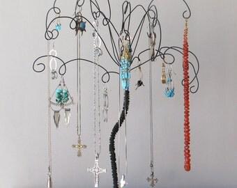Jewelry Holder Earring Organizer Jewelry Wire Jewelry Tree Stand  Earring, Rings,Bracelets, Organizer, Display