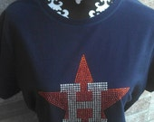 Houston Astros Bling t shirt