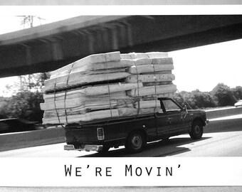 We're Moving/ We've Moved Postcards