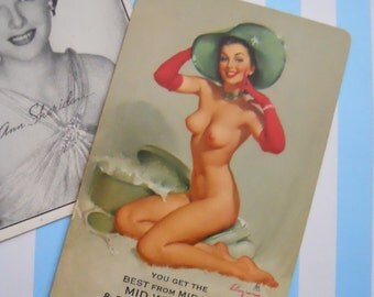 Vintage Cheesecake Advertising Pin Up Playing Cards | LAST ONE