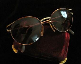 Laura Biagiotti Sunglasses Vintage Shades Sun Glasses Designer Accessory Made in Italy Round