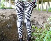 Striped-Sale-Leggings-black-white-stripes-crazy-funky-small