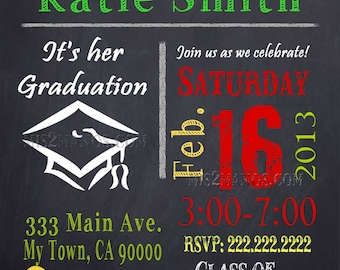 Fiesta Graduation Invitation Graduation Party Invitation DIY Printable Party Invites