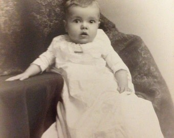 SALE Adorable baby Cabinet card photograph