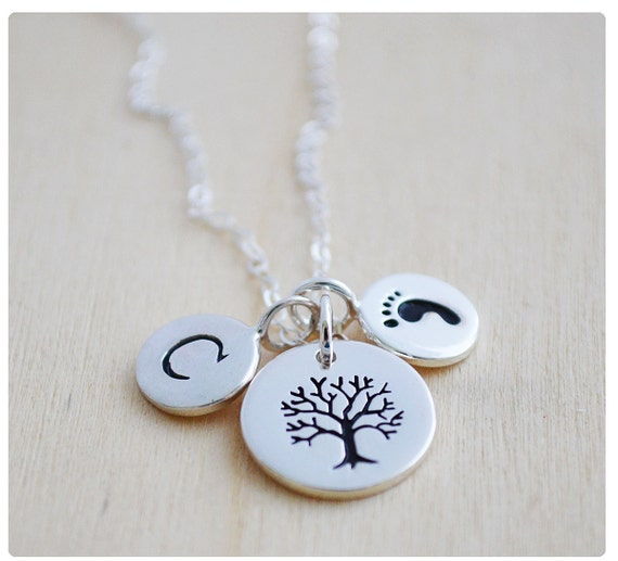 Items similar to Mommy Necklace - New Mom Jewelry ...