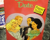 1989 Double Date UNCUT Paper Doll Book