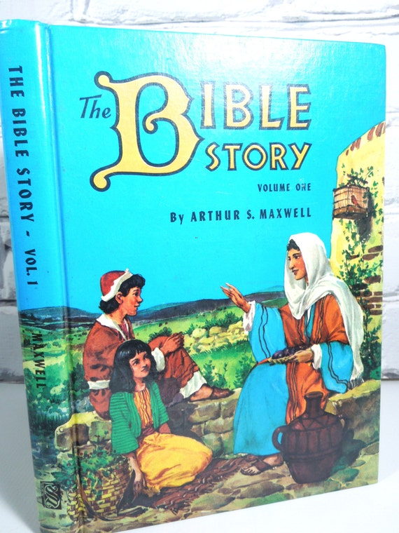 Vintage Children's Book. The Bible Story Volume One.