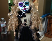 Day of the Dead - Sugar Skull Porcelain Doll No. 1