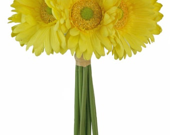 Yellow Daisy Bouquet - Bridal Wedding Bouquet