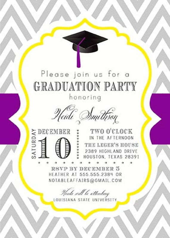 what to write on a graduation party invitation | enimex, Party invitations