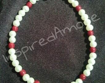 Swarovski Heart pearl bracelet