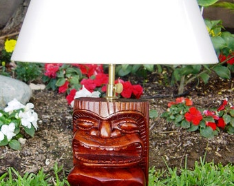 Hawaiian / Polynesian Tiki Lamp