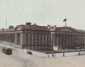 WASHINGTON, D. C. - United States Treasury, Vintage Postcard, c. 1900s, Clinedinst Photo