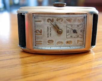 1930s Waltham Premier Curvex Watch