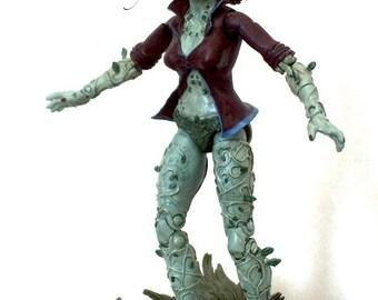 "Poison Ivy - Batman Arkham Knight Asylum 6"" custom action figure DC Collectibles Marvel Legends"