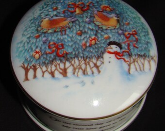 Wedgwood Trinket Box - 12 Days of Christmas Day Two  ON SALE
