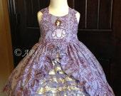 Custom Ruffled Princess Dress