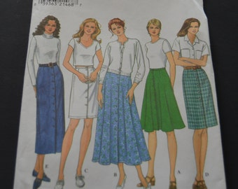 Simplicity 8089 Misses Skirt Sewing pattern - UNCUT - Sizes  8 10 12
