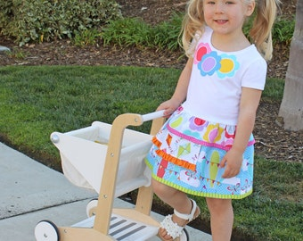 Girls school dress pattern pdf Matilda Jane inspired SILLY GOOSE