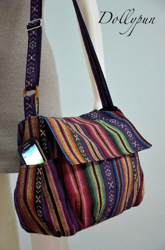 nepali hippie style handbag cross bag boho bohemian