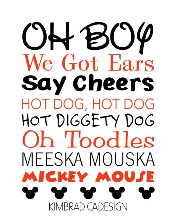 Mickey Mouse Clubhouse Mickey Quotes Digital by ...