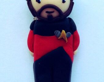 Star Trek TNG - Riker Charm
