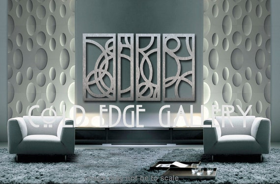 Extra Large Metal Wall Art Decor Abstract by ColdEdgeGallery