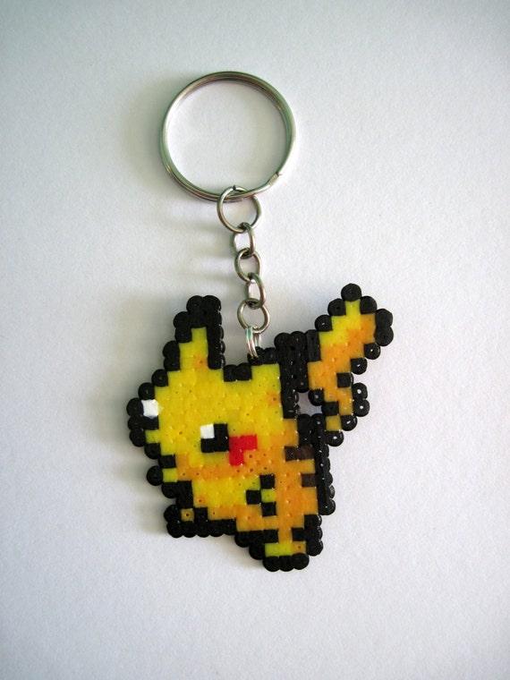 36 Hama Bead Pikachu