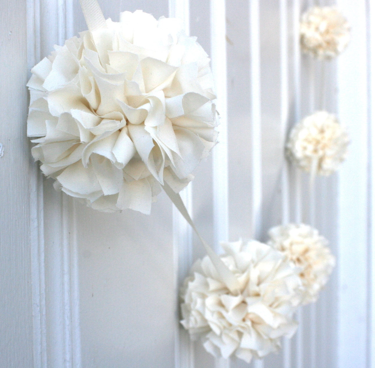 Wedding garland baptism decoration baby by threadingmarigolds for Baby baptism decoration