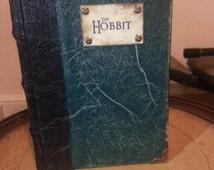 THE HOBBIT Hardback Book , DRAGON skin Pocket Hobbit Ed...fan art