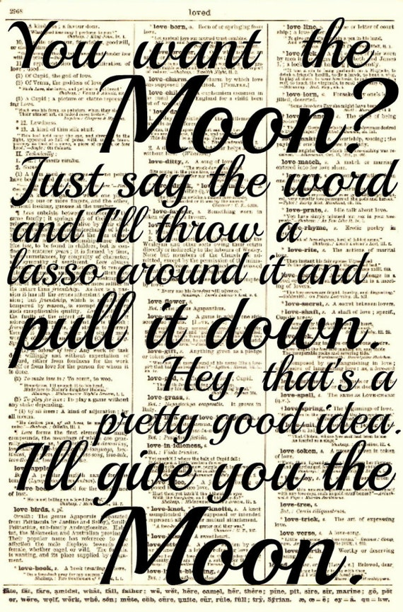 Lasso the Moon It's a Wonderful Life Quote by ...