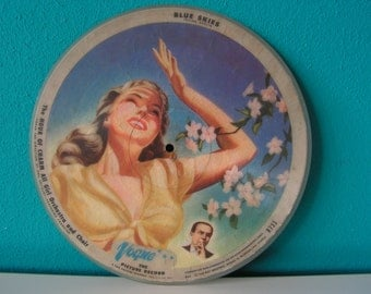 Vogue Picture Record 1940s R733 Wall Hanging Decoration Image Music