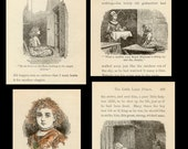 1904 - The Little Lame Prince - 19 Illustrations - Story Book - Collage, Decoupage, Frame