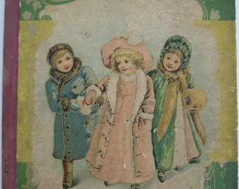 1899 Edition of Childrens Book - Furs and Feathers published by DeWolfe, Fiske and Company