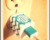 Set - Personalized iPhone Plug Wrap & USB Band - Set