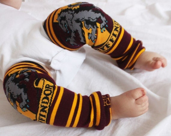 Harry Potter Gryffindor Baby Leg Warmers
